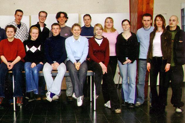 Abiturklasse vom Ostseegymnasium Sassnitz auf Rügen - Jahrgang 2003