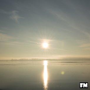 Winter an der Ostseeküste auf der Insel Rügen