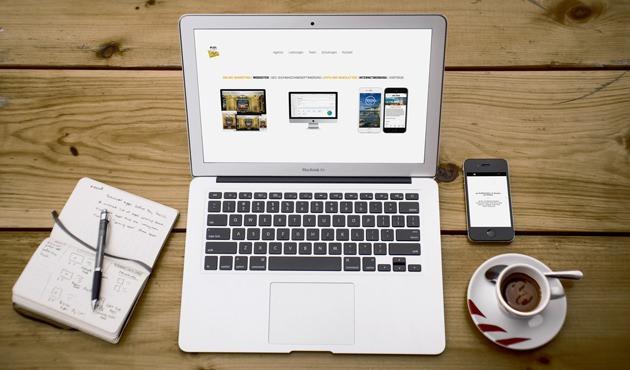 Webseite der Werbeagentur ap Marketing in der Stadt Bergen auf der Insel Rügen