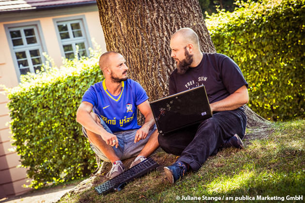 Webdesign und SEO durch Felix Müller und Stefan Fritsch von der Werbeagentur ap Marketing in Bergen auf der Insel Rügen